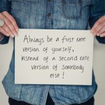 Be a first rate version